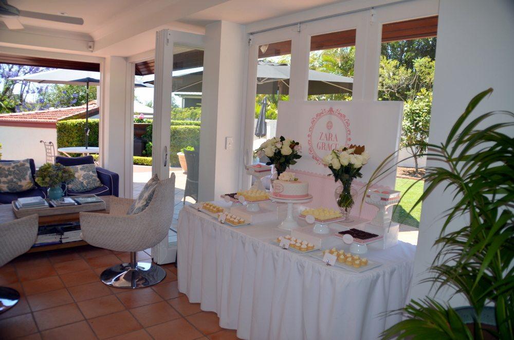Christening Dessert Table - Style My Celebration 1