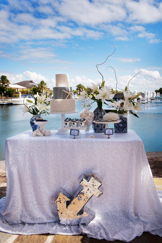 Nautical wedding - photo shoot Style My Celebration