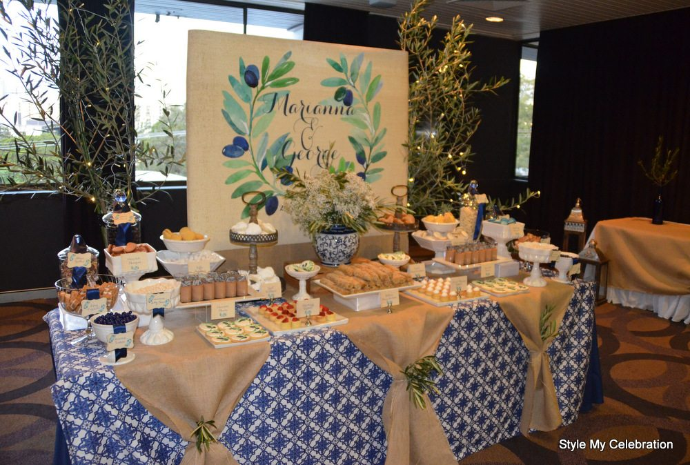 Bespoke event styling, dessert and food tables