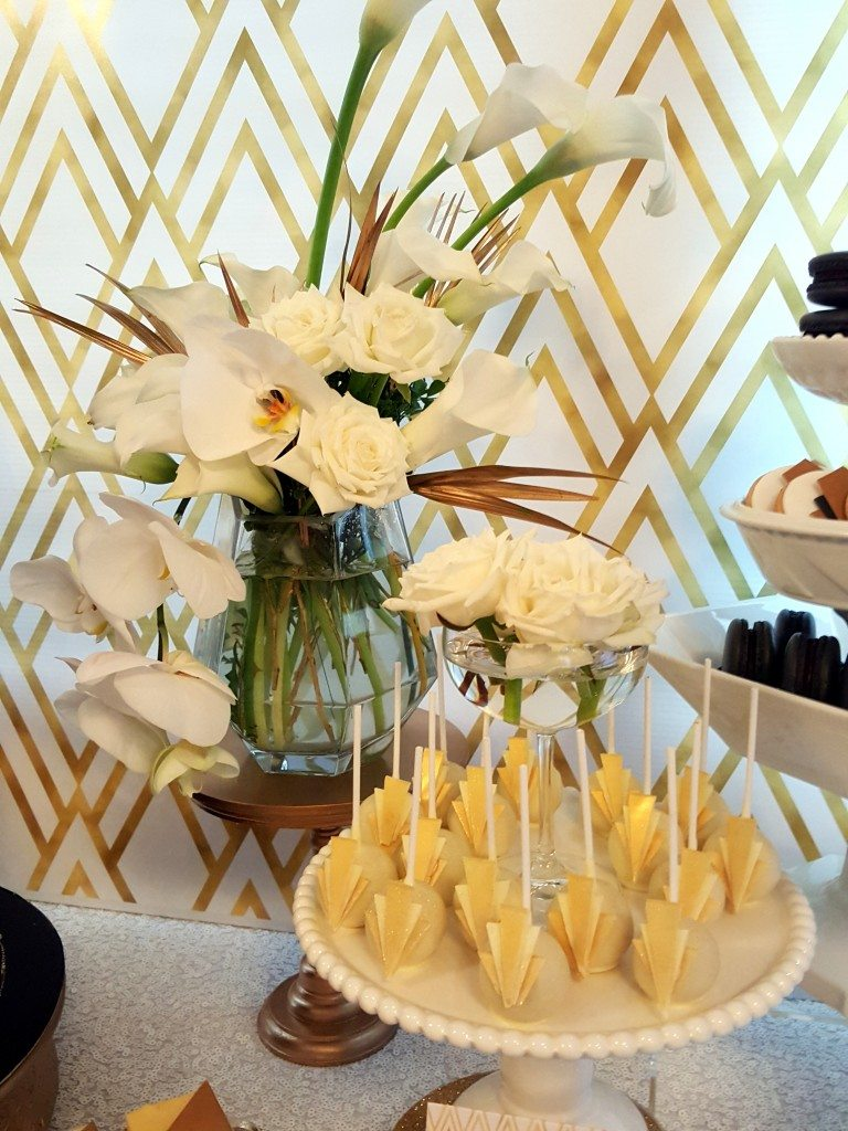 Great Gatsby Dessert Table - Style My Celebration