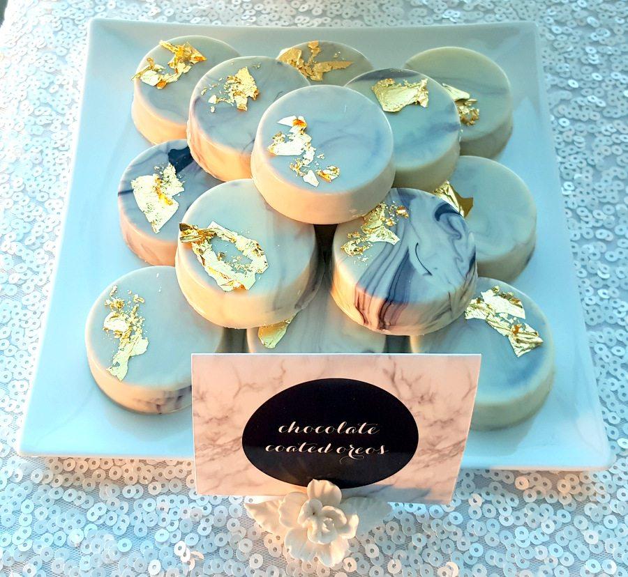 Marble dessert table