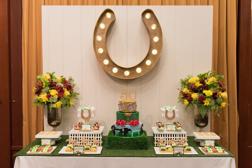 1-HORSE RACING PARTY