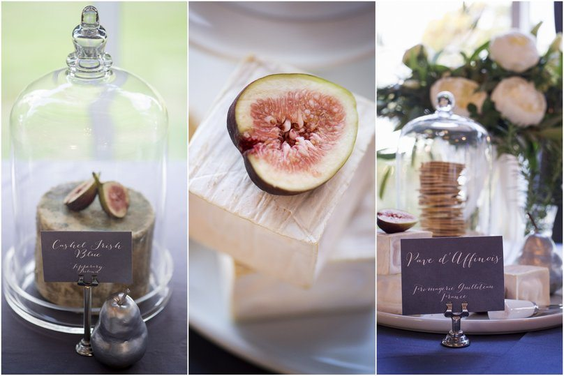 Wedding cheese table styled by Style My Celebration - image Nicole Barralet