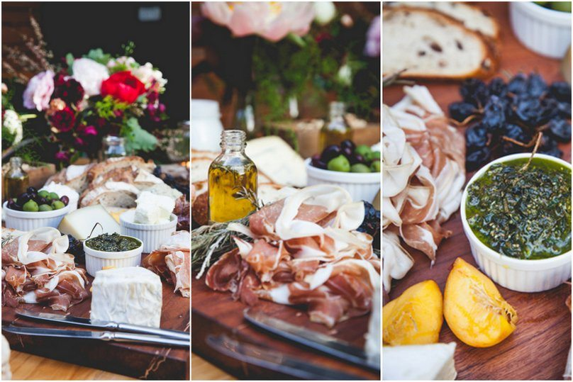 Grazing Table - full credits via Polka Dot Bride.  Styling Lisa Diederich Photography , food Harry & Mario Cafe