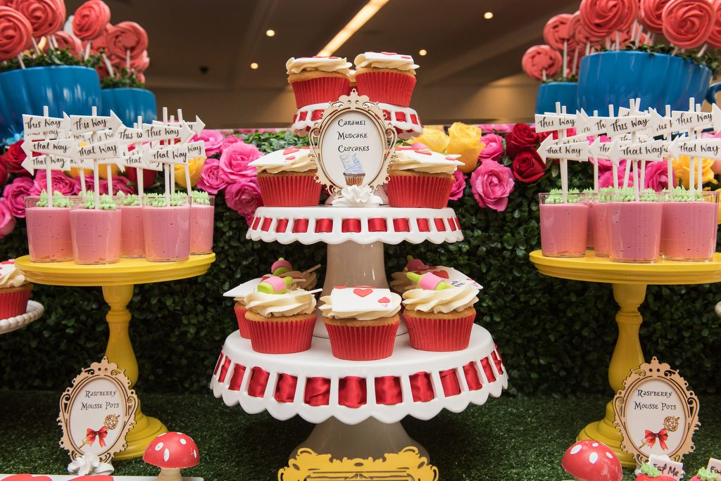 Mad Hatter Dessert Table