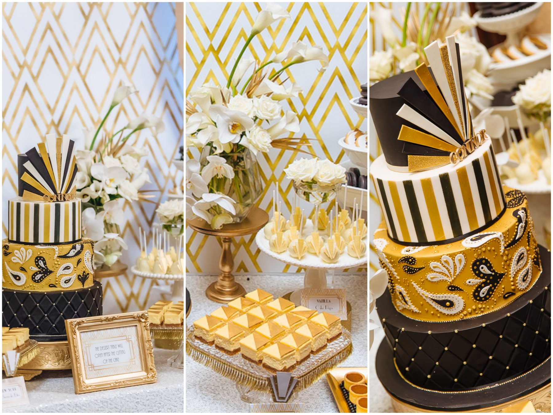 Dessert tables and food styling